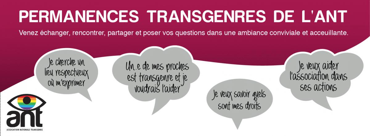 Visuel des permanences transgenres
