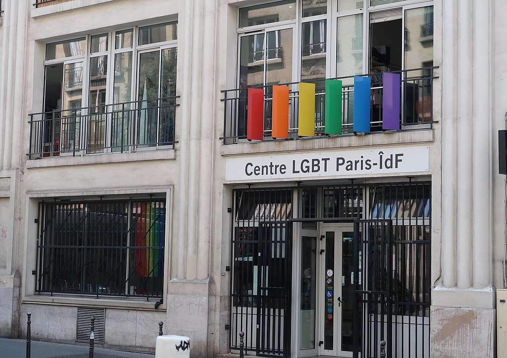 Photo du centre LGBT Paris île-de-France