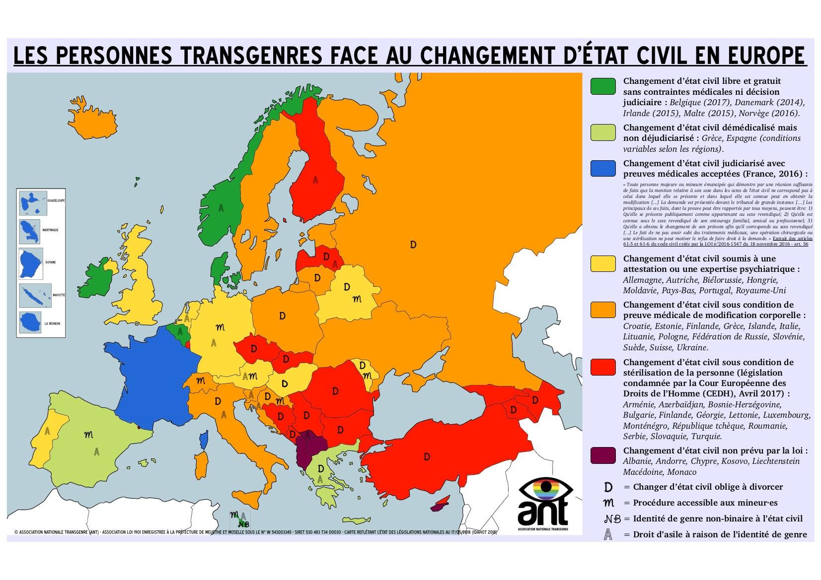 Carte Europe CEC